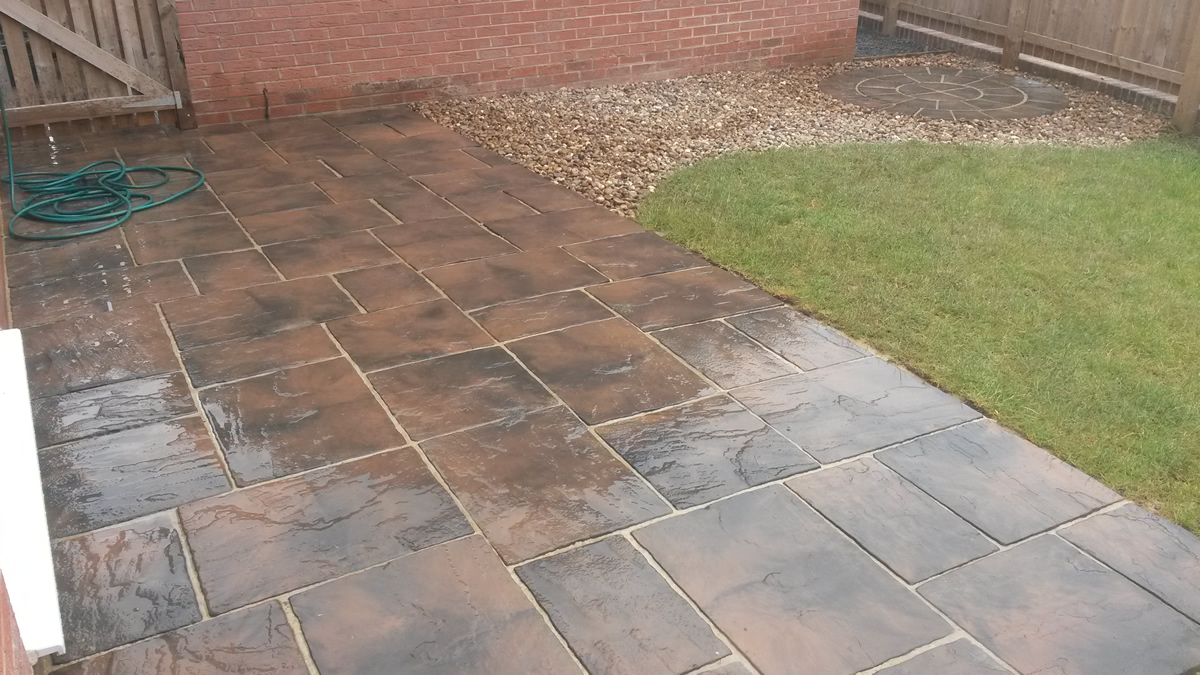 recent work carried out for driveway cleaning in newcastle