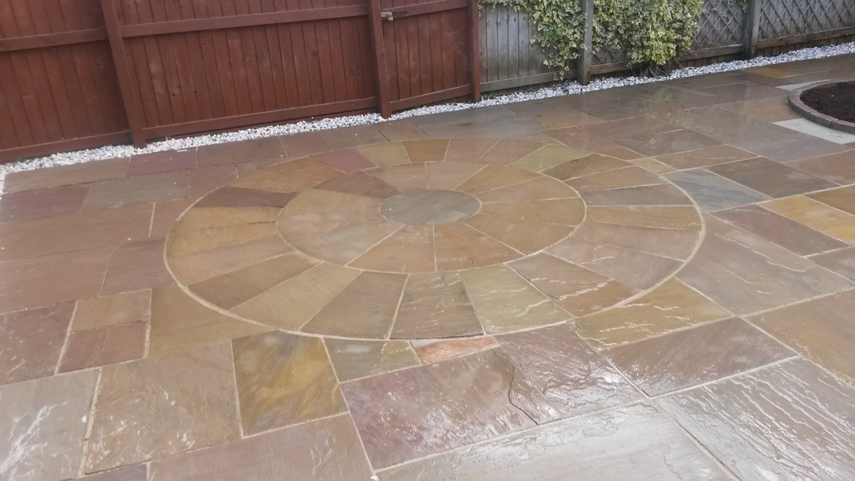 recent project we carried out for Whitley Bay driveways