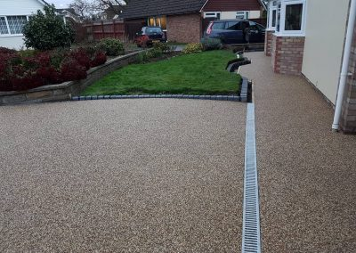 resin driveway installations in newcastle